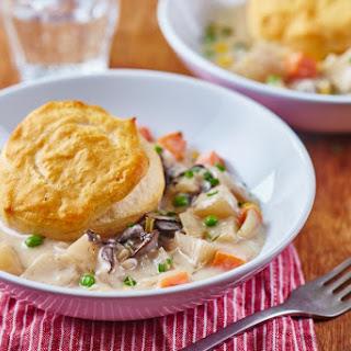 Slow Cooker Veggie Pot Pie.
