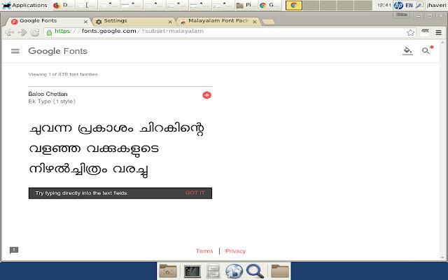 Malayalam Font Pack