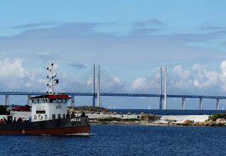 Photo: Seit 2000 verbindet die Öresundbro Malmö mit Kopenhagen.