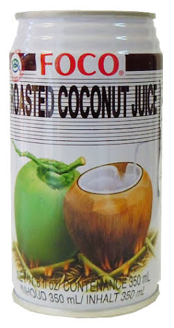 Roasted Coconut Juice 350 ml Foco