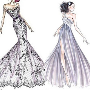 Sketching Clothing Designs | Dress Fashion Sketch Apps On Google Play