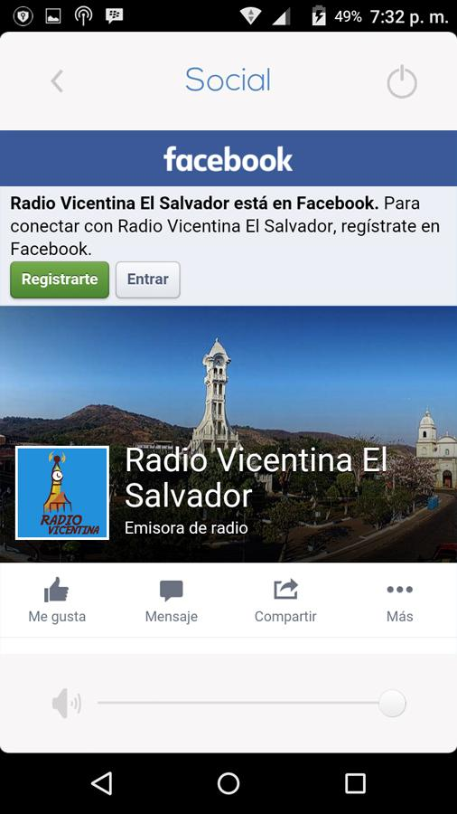 RadioVicentina- screenshot