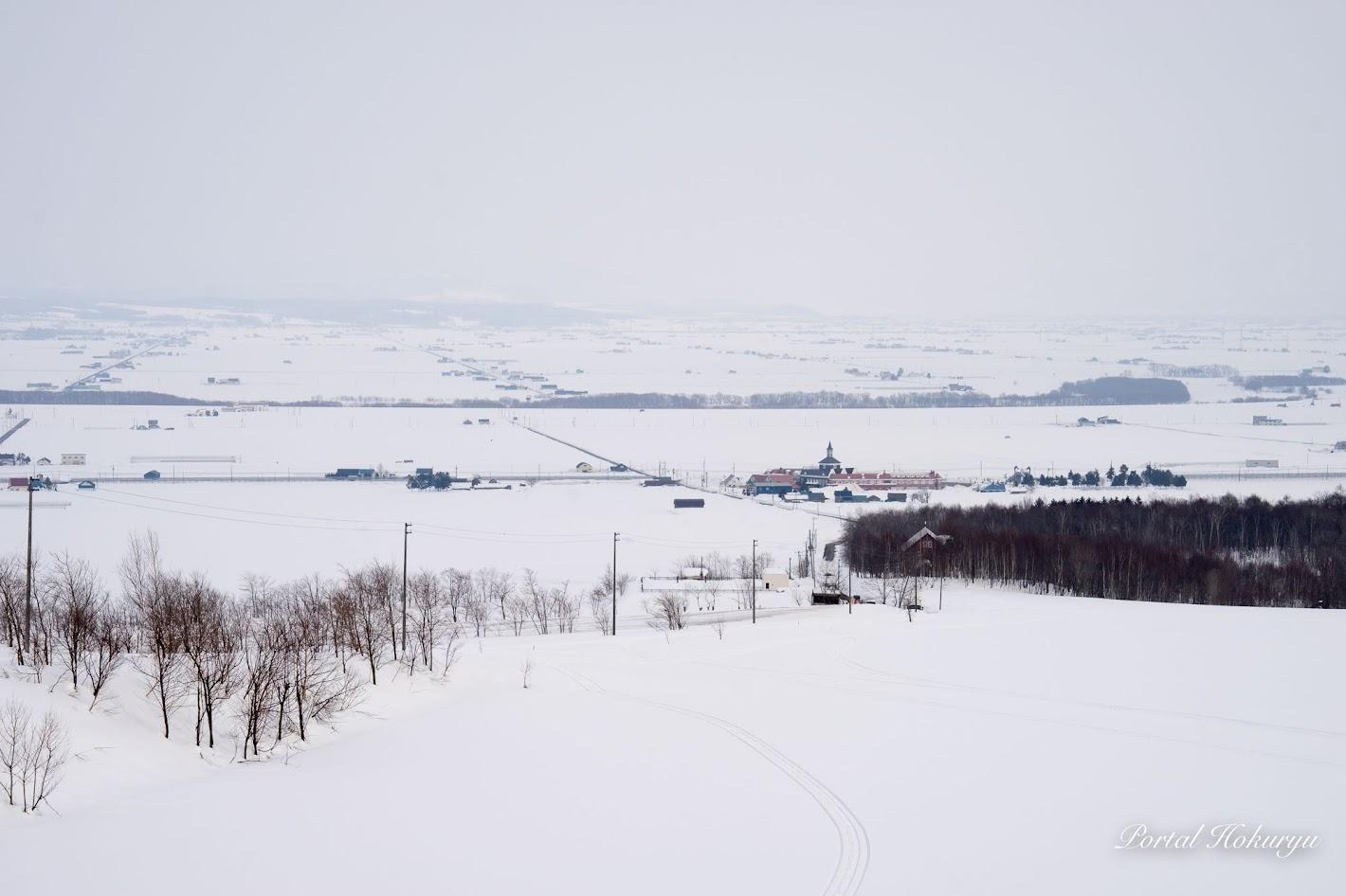 眺望の丘からの風景