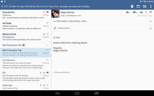 ASUS Email screenshot 5