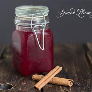 Spiced Plum Jam.