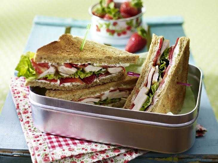 Chicken Sandwiches with Basil-Caper Spread Recipe