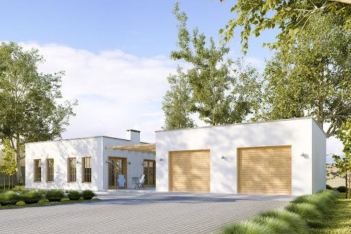 projekt G191 - Budynek rekreacyjny z sauną