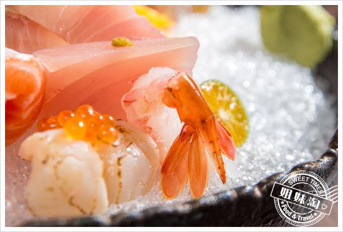 墨吉日本料理上品生魚片