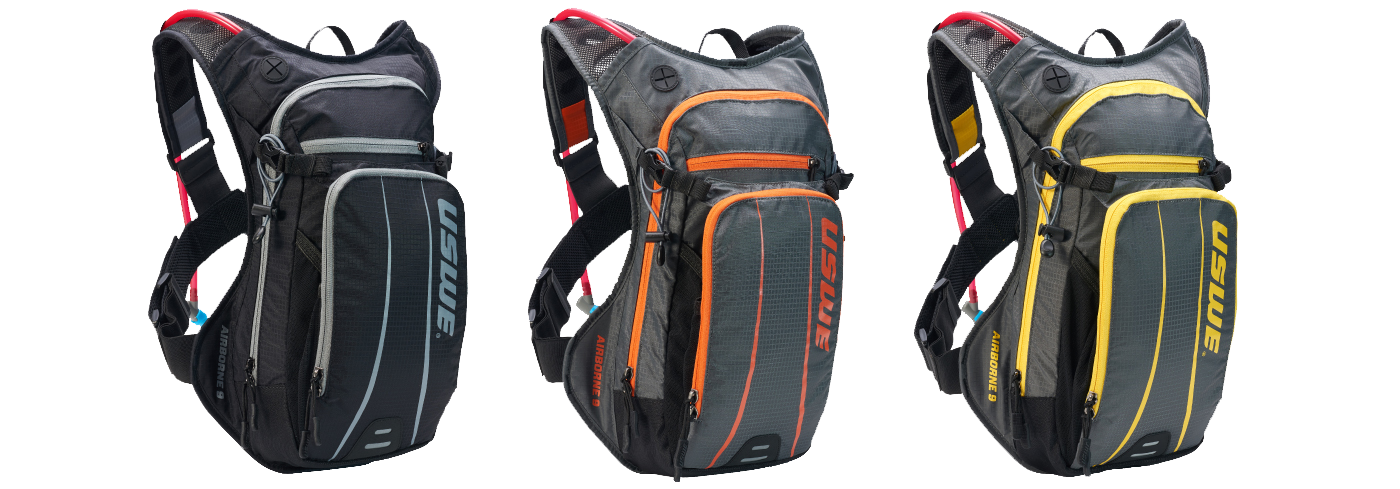 Airborne 9 Series Hydration Backpack With Accessible Phone Pocket