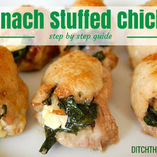 Green Chicken Parcels.
