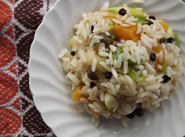 Dried Apricot And Currant Rice Recipe