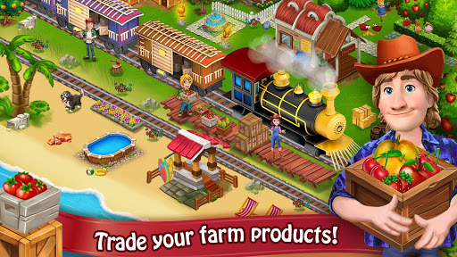 Farm Day Village Farming: Offline Games modavailable screenshots 4