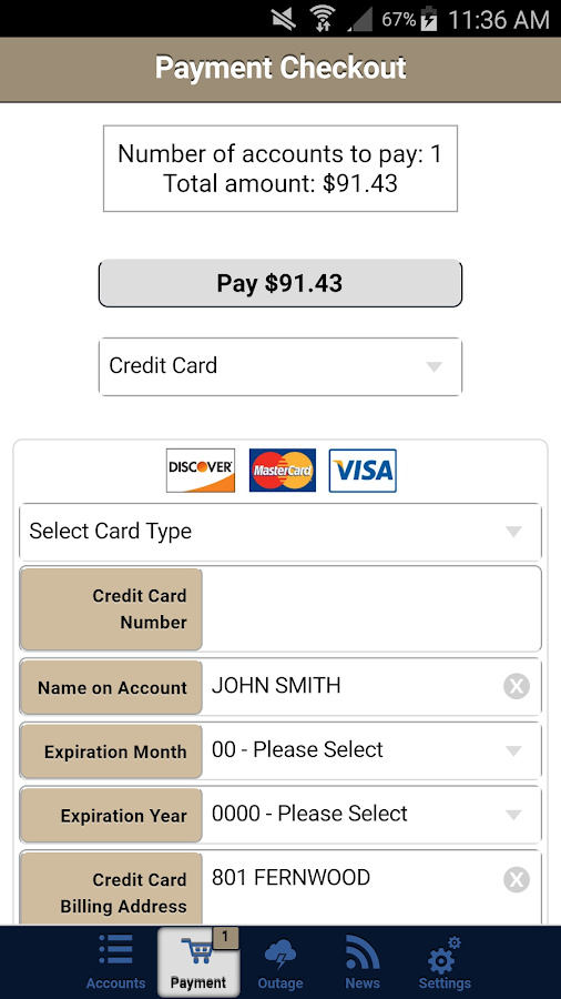 PowerPay24- screenshot