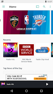 TuneIn: Radio, Music & Sports Screenshot