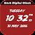 Brush Digital clock LWP free file APK Free for PC, smart TV Download