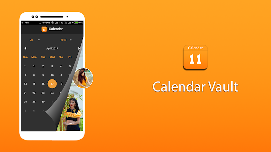 Download Calendar vault - Secret Gallery vault For PC Windows and Mac apk screenshot 1