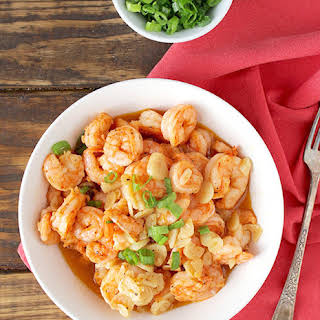 Garlicky Shrimp.