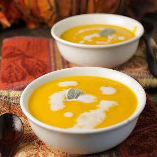Creamy Paleo Pumpkin Soup - Dairy Free.