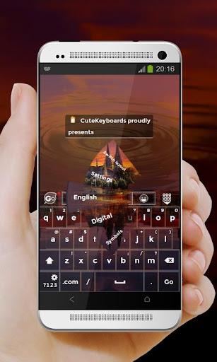 德國 GO Keyboard Theme