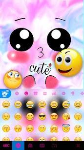 Emoticon Kiss Emojis Keyboard Theme 3
