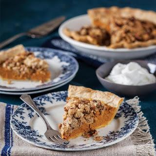 Pumpkin Streusel Pie Recipe