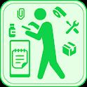 在庫ある? 在庫数レベル管理型 在庫管理リスト icon