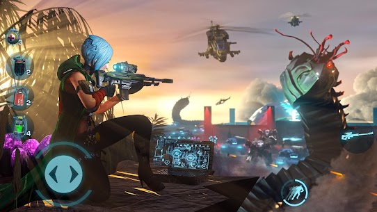Evolution 2: Battle for Utopia. Shooting games MOD (High Damage) 3