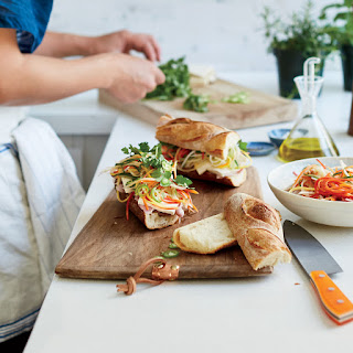 Tofu Banh Mi Sandwiches.