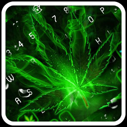 Weed Rasta Keyboard