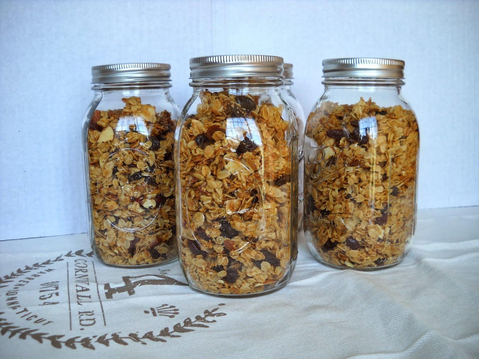 Coconut-Almond Granola, Jennifer Malme