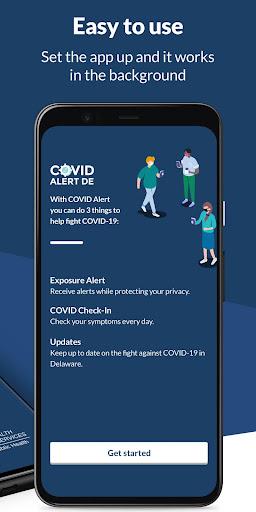Covid Alert DE screenshot 2