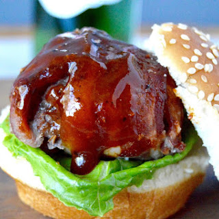 BBQ Bacon Meatball Slider