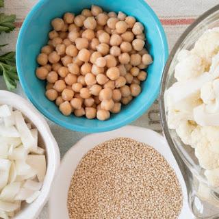 Curry Cauliflower Quinoa Stew.