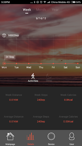 android Veryfit 2.0 Screenshot 3