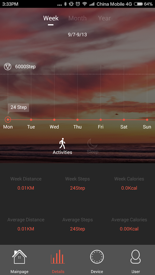 Veryfit 2.0- screenshot