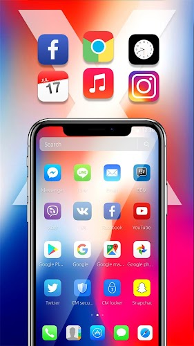 Download Theme For Iphone X By Pink Theme Designer Apk
