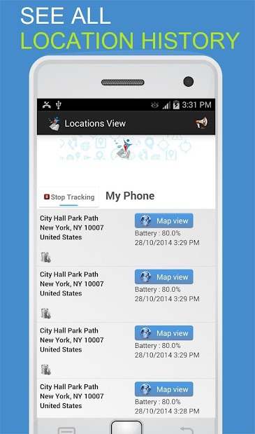 Google Phone Tracker >> Phone Tracker By Number On Google Play Reviews Stats
