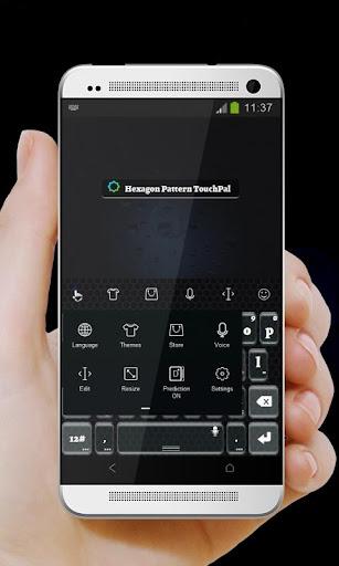 六边形图案 TouchPal 主题|玩個人化App免費|玩APPs