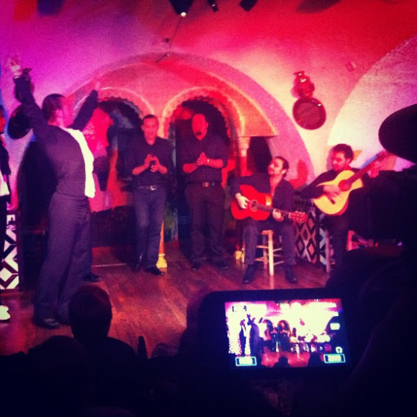 Photo: Filming flamenco