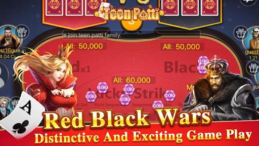 TeenPattiKing - 3 Patti Poker Card Game 1.0.1 screenshots 5