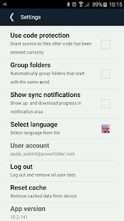 PowerFolder- screenshot thumbnail