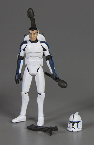 Action figure:Star Wars The Clone Wars: Clone Trooper Denal