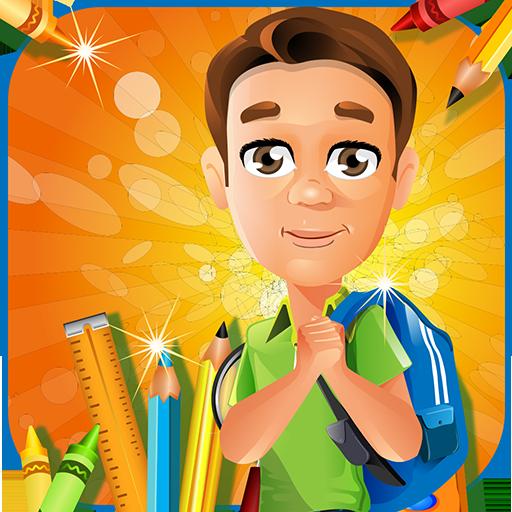 休闲のクールスクール - 子供楽しい時間 LOGO-記事Game