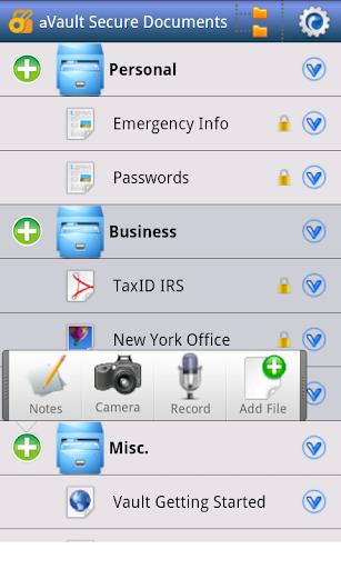 aVault Secure Encryption II