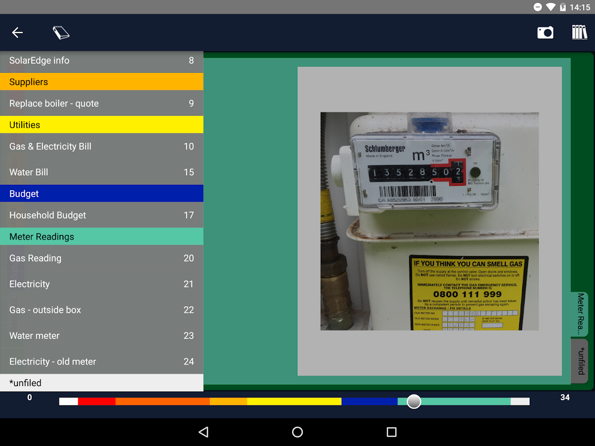 Digital Binder Viewer- screenshot