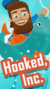 Hooked Inc Fisher Tycoon MOD APK 2.12.1 [Unlimited Money] 1