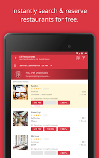 OpenTable: Restaurants Near Me Screenshot 16