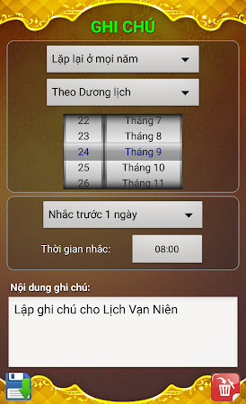 Lich Van Nien - Lịch VN 2016 7.5 screenshot 334435