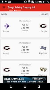 Georgia Bulldogs Gameday LIVE- screenshot thumbnail