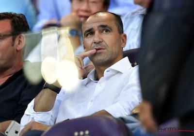 La première sélection de Roberto Martinez !